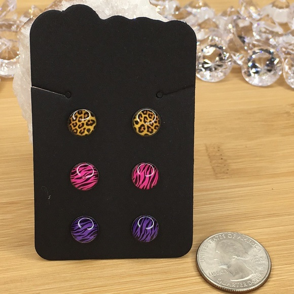 Other - 3 Pairs of Stud Earrings